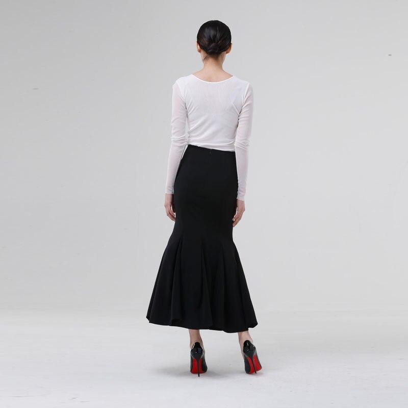 Poisson De Haute Noir Midi Longue Maxi Sexy Taille Plus bleu Sirène rouge Femme Jupes argent Noir La Queue Soirée blanc vert jaune Personnaliser Jupe 2015 pourpre qaWXwF6Zn