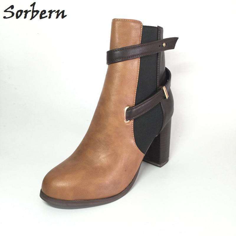 Sorbern حذاء امرأة بوتا الأنثوية زائد حجم - أحذية المرأة