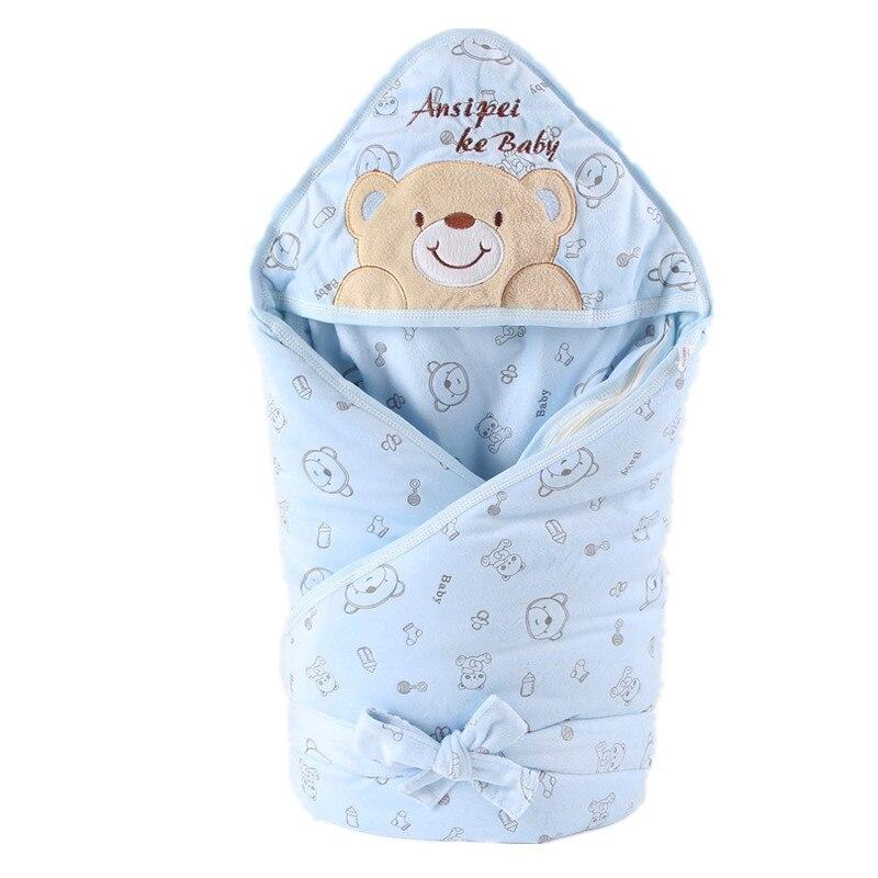 KiDaDndy New Newborn Baby Boys Girls Cute Soft Cotton Sleeping Bag Newborns Sleeping Bag Envelope For Newborns Baby Fashion