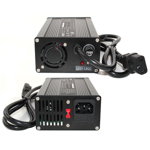 Image 5 - 67.2V 3A Charger 67.2V Li ion Battery Smart Charger For 16S 59.2V 60V Li ion Battery High Power With Fan