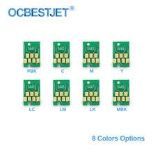 T5441-T5448 T5441 Mürekkep Kartuşu Çip Kalıcı Çip ARC Çip Için Epson Stylus Pro 4000 4400 7600 9600 Yazıcı (8 renk Seçenekleri)