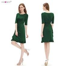 e2bc7c25757 Коктейльные платья бесплатная доставка HE03900 новинка красный половина рукава  короткие пром ну вечеринку платье 2015(