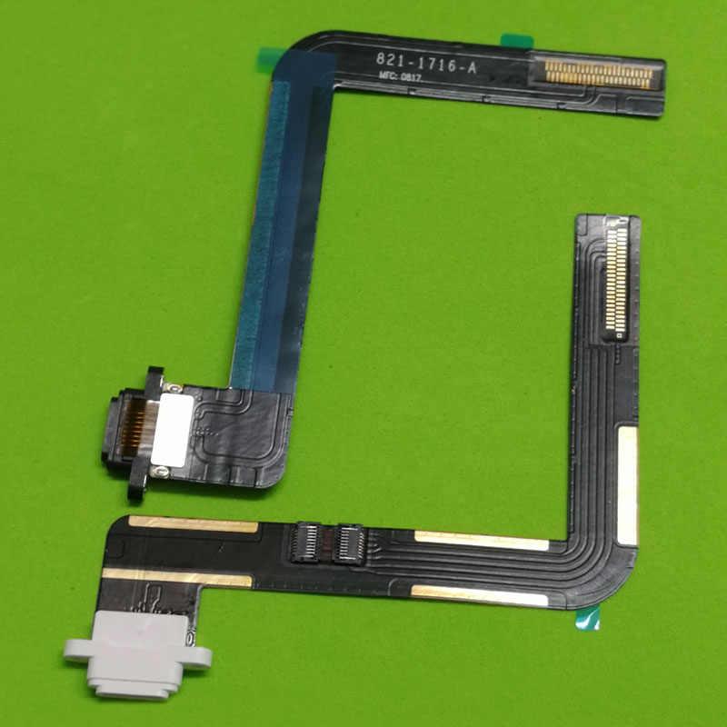 Charger ชาร์จ USB Dock Connector พอร์ต Flex Cable สำหรับ Apple Ipad Air IPad 5 A1474 A1475 A1476 iPad5 สีดำสีขาว