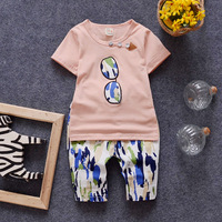 Hot Selling Baby Suits Children Summer Spring Suit Boysnice Quality Style T Shirt Tee Shorts S