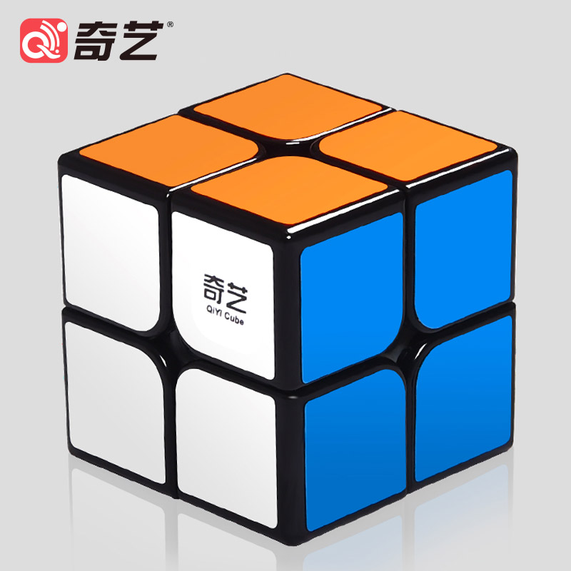 Qiyi 2x2x2 Cube Professional 5.1CM Speed Cube For Kids Boy Magic Cube Puzzle Neo Cubo Magico Sticker For Children Education Toys