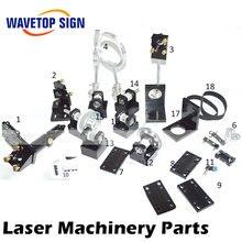 CO2 Laserkopf Set CO2 Laser Metall Teile co2 laser pfad verwenden für laserschneiden und graviermaschine