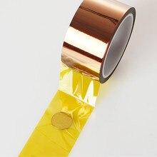 Теплоизоляционная лента изоляционная лента Полиимид водонепроницаемая клейкая лента панель протектор высокая температура теплоизоляционная лента