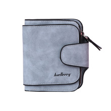 Baellerry Fashion Women Girls ID Credit Card Holder Coin Purse Wallet Change Pockets Short Wallet Leather