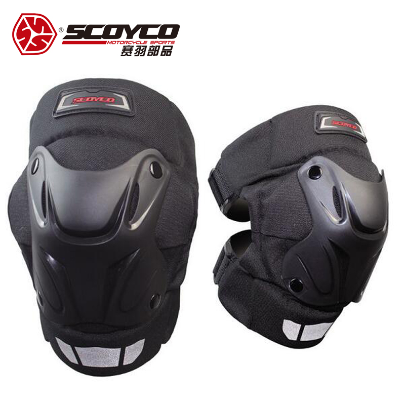 SCOYCO Motorcycle Protective Motocross riding brace knee pads motorcycle Knee Pads Protective Men And Women Guards Armor Gear