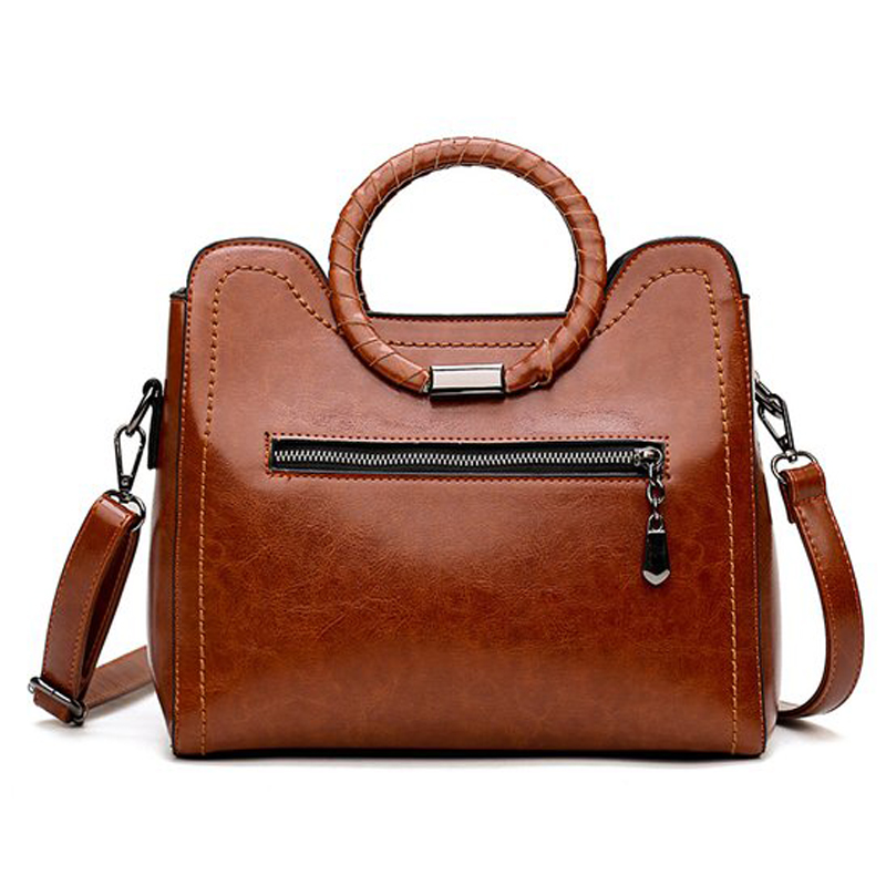 5de63a005a OTHERCHIC Hot Sale Oil Wax Leather Bags Women Brand Designer Handbags High Quality  Tote Women Shoulder Messenger Bags L 7N12 11-in Top-Handle Bags from ...