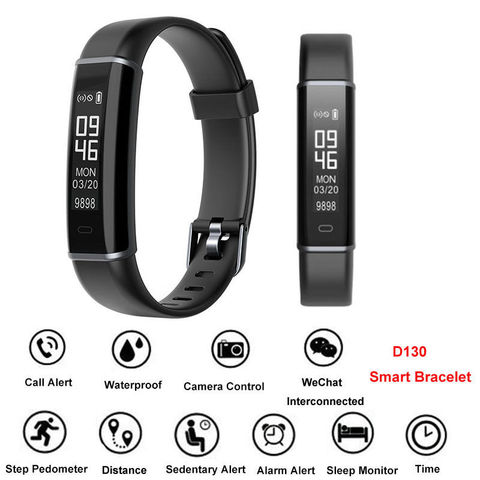 Wearable Devices ID130 Uhr BT-4.0 Wristbands Activity Pulsometer Pedometer APP Control Bracelet Smart Fitness Watch Electronics Pakistan
