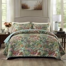 CHAUSUB, американское качество, набор стёганых одеял, 3 шт., стираное Хлопковое одеяло, s, Стёганое одеяло, покрывало, покрывало, простыни, покрывало с принтом, набор King size