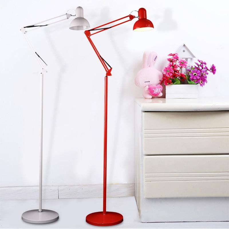 Modern American Style Floor Lamps Living Room Adjustable Hotel Lighting Night E27 LED AC 110V 220V