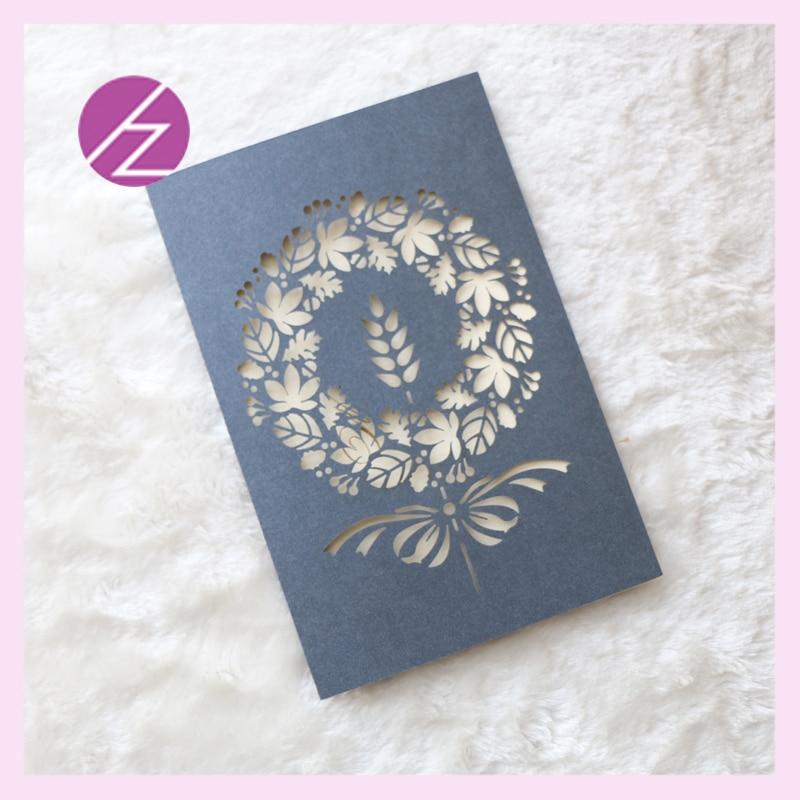 30pcs laser cut wedding invitation card japanese flowers wedding ...