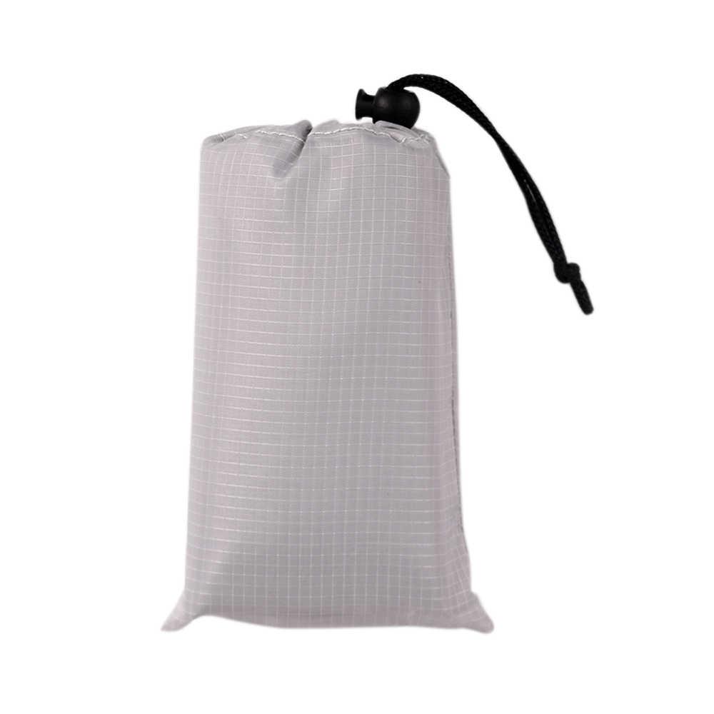 Водонепроницаемый коврик для пикника складной туристический коврик матрас уличное пляжное покрывало для пеших прогулок путешествия спальная кровать коврик наземный чехол с сумкой