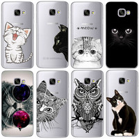 Coque For IPhone 5 5S 6 6S 7 Plus Case For Samsung Galaxy A3 A5 J3