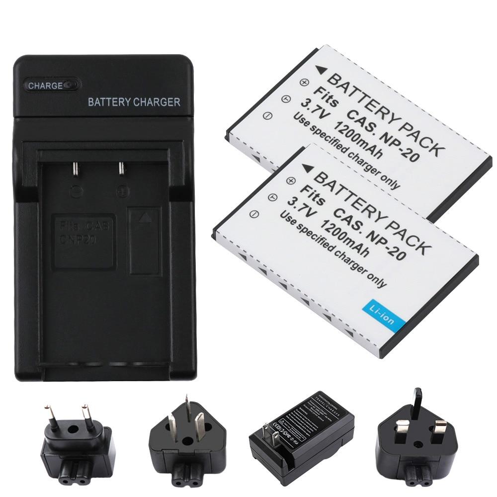 EX-Z77 Camera EX-Z70 NP-20DBA EX-Z65 EX-Z75 Battery for Casio NP-20