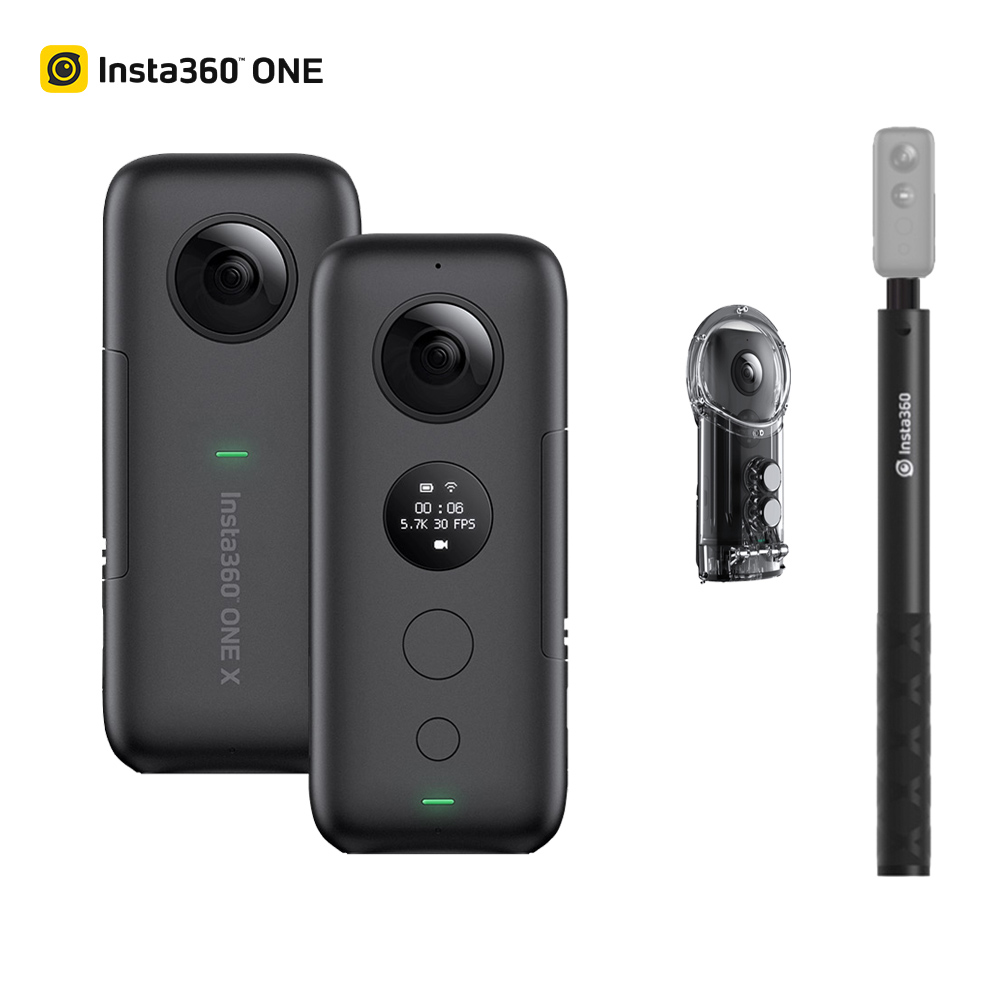2019 Newest Insta360 ONE X  360 Panoramic Camera W/ 32GB Card For IPhone Samsung Xiaomi 5.7K Video 18MP 360 Camera Action Camera