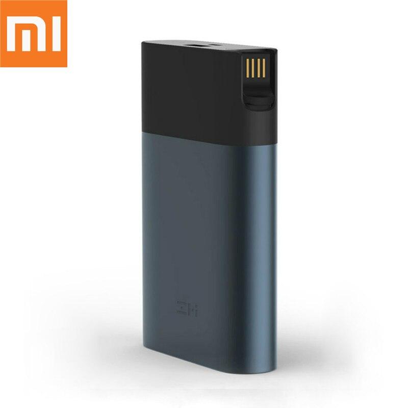 Routeur Wifi d'origine Xiaomi ZMI 4G 10000 mAh 3G puissance mobile 4G LTE hotspot mobile 10000 mAh QC 2.0 charge rapide puissance mobile