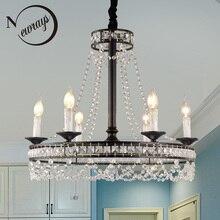 Lámpara colgante de hierro forjado industrial Vintage E14 lámpara colgante LED para sala de estar, cama, comedor, estudio, oficina, restaurante