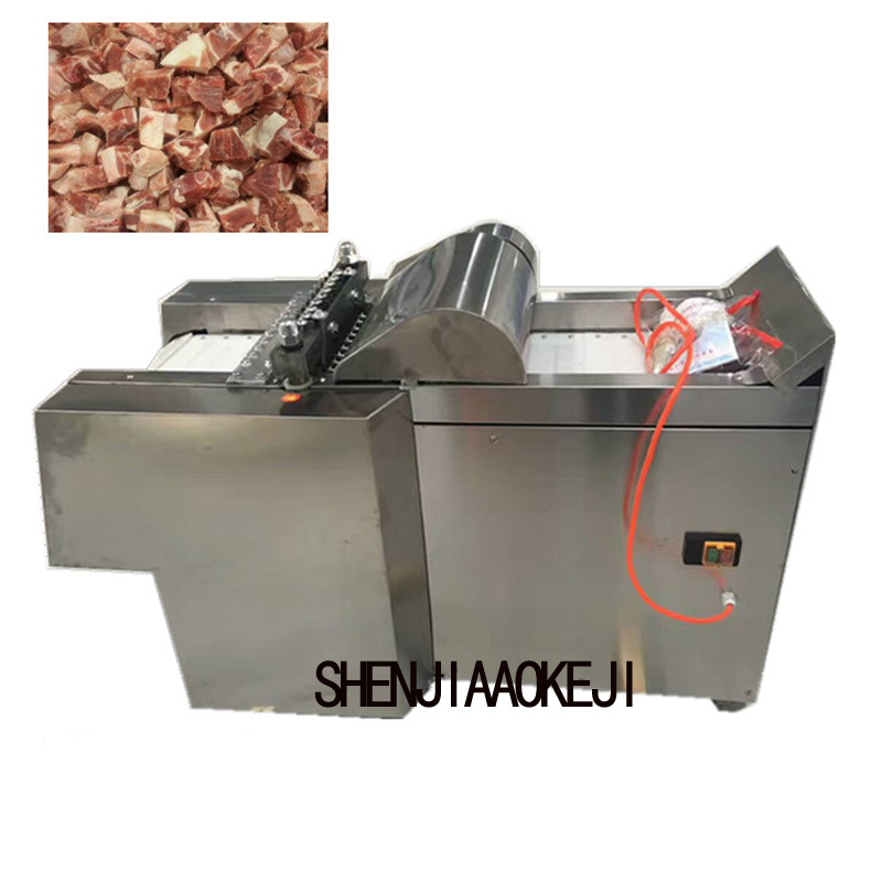 Electric New Chicken Nugget Cutting Machine Processing Tool 220V/380V 1pc Stainless Steel Cutting Chicken Machine Commercial