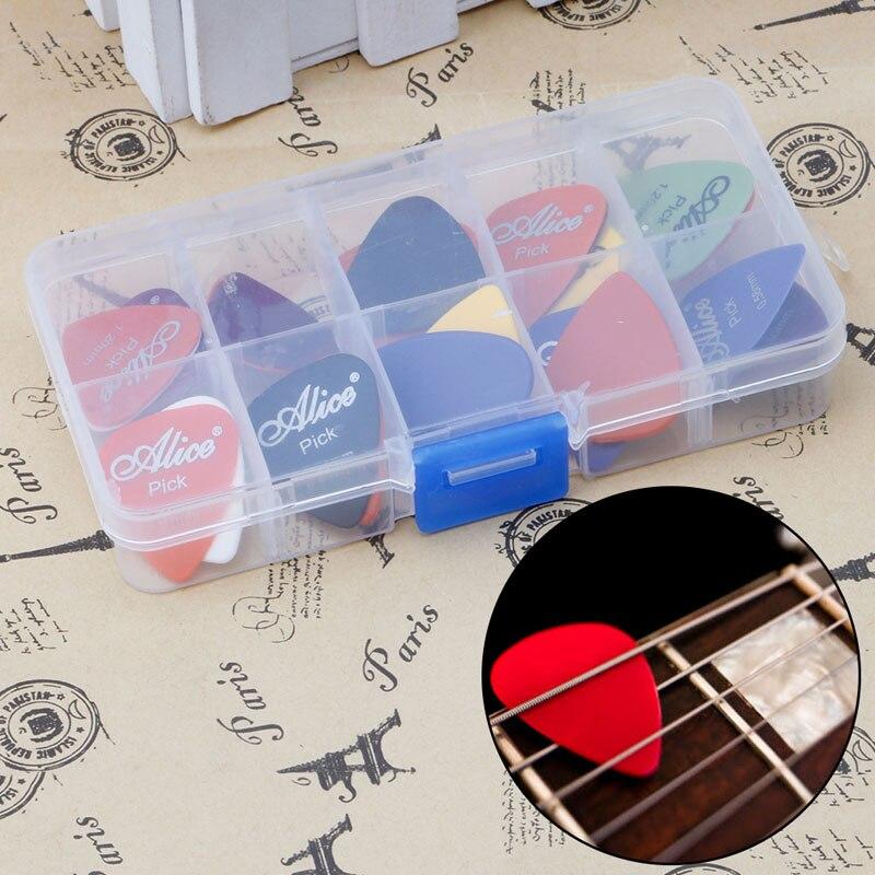 New 50Pcs Acoustic Electric Guitar Picks Plectrum Plectra Various Durable