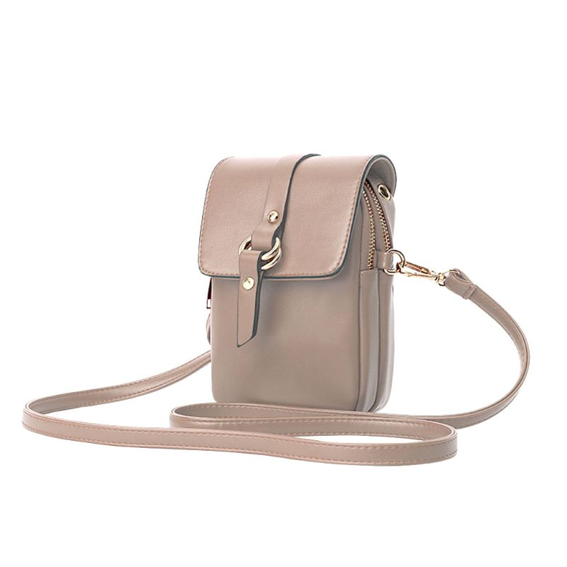 High Quality New Cute Fanny Small Crossbody Bag Cell Phone Purse Wallet Shoulder Bags For Women Girls in Shoulder Bags from Luggage Bags