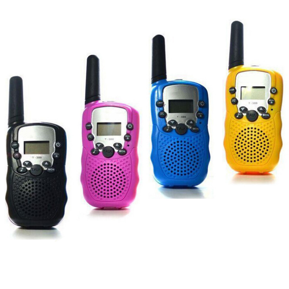 2 Pcs/Set Children Toys 22 Channel Walkie Talkies Two Way Radio UHF Long Range Handheld Transceiver Kids Gift  S7JN