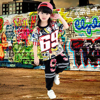 Children's Hip Hop Dancewear Jazz Dance Costume Children's Hiphop Dance Street Dance Performance Service
