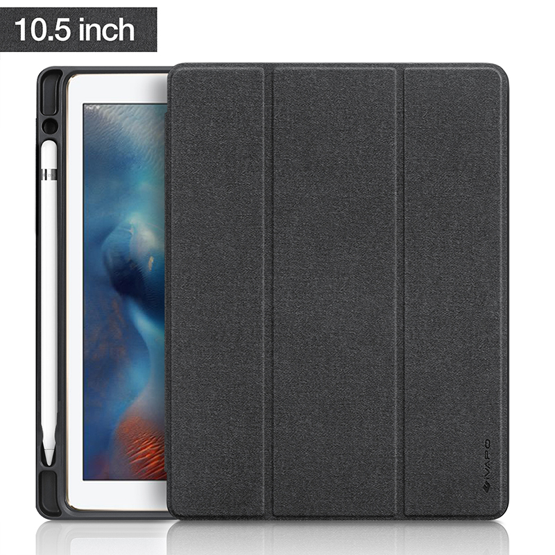 for apple ipad pro 10 5 case 2017 new pu leather slim smart cover w pencil holder wake sleep. Black Bedroom Furniture Sets. Home Design Ideas