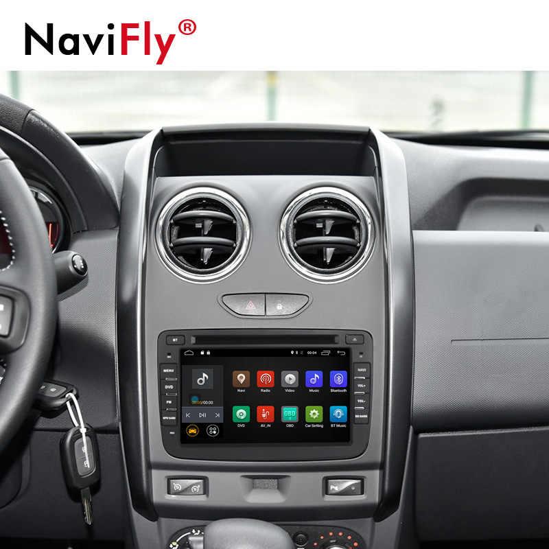 NaviFly Android 7,1 автомобильный dvd-плеер радио аудио для Dacia/Sandero/Duster/Captur/Lada/Xray 2 Logan gps Navi 4G wifi BT RDS