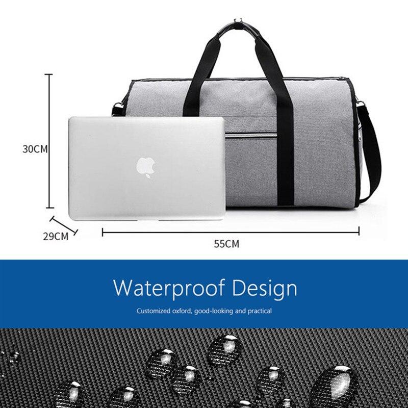 Дропшиппинг водонепроницаемый дорожный костюм вещевой мешок дорожная сумка багажные сумки бизнес большая портативная дорожная сумка для хранения