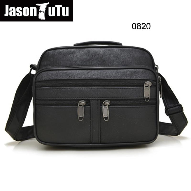 fb1ba15f2ff4 Detail Feedback Questions about 3 Type Casual Genuine Leather Shoulder Man  Handbags Men Messenger Bags Zipper Business Crossbody Bag Black free  shipping ...