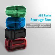 Xingshenglong earphone accessories headphone bag hard shell pressure pack colorful protection portable storage box
