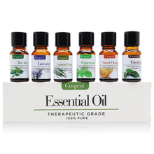 6 Flavors/Set Natural  Lavender Essential Oil Stable Emotion Antidepressant Ease of Mind Body Massage Relax 10ml