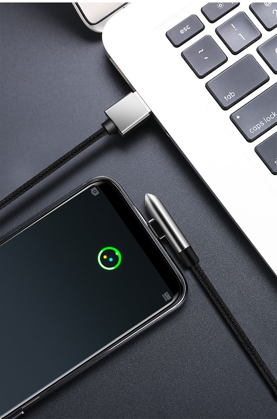 !ACCEZZ Elbow Micro USB Cable Fast Charging For Samsung S7 S6 Note 4 5 Edge Android Phone Data Cable For Xiaomi Redmi 4X Huawei  (14)