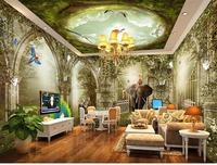 3d Photo Wallpaper Custom Mural Living Room Dream Fairy Tale Fairyland Forest Painting Sofa TV Background
