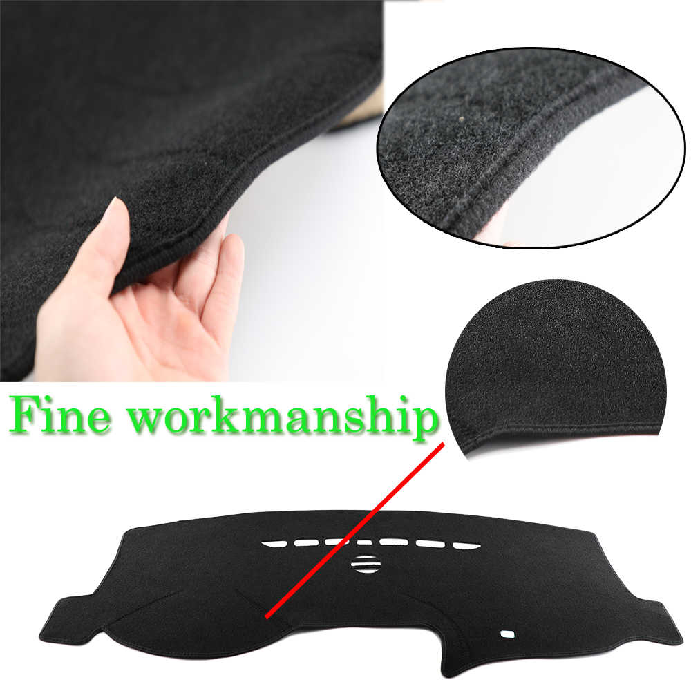 Easysee Dashboard Cover Pad Dashmat Dash Mat Sun Shade Dash Board Cover Carpet For TOYOTA Old COROLLA&F3 2004 2005 2006