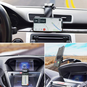 Image 5 - Yianerm suporte magnético para celular de carro, não bloqueio de mira, montagem no automóvel, ajustável, magnético, para iphone xs max samsung s9