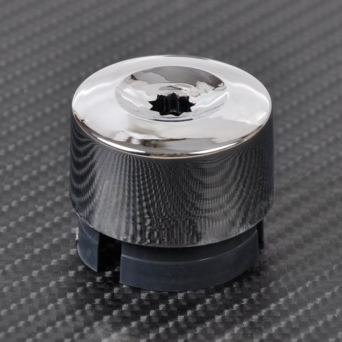 DWCX Silver Wheel Lug Bolt Nut Cap Cover 7L6601173A for VW Touareg 2004 2005 2006 2007 2008 2009 2010 2011 2012 2013 2014