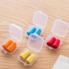 Soft Sponge Ear Plugs Sound Insulation Ear Protection Earplugs Noise Reduction Sleeping Plugs with Storage Box(China)