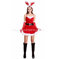 Elk sexy christmas costumes for women christmas dress woman sexy santa costumes for women santa claus  sc 1 st  AliExpress.com & Elk sexy christmas costumes for women santa claus costume Christmas ...