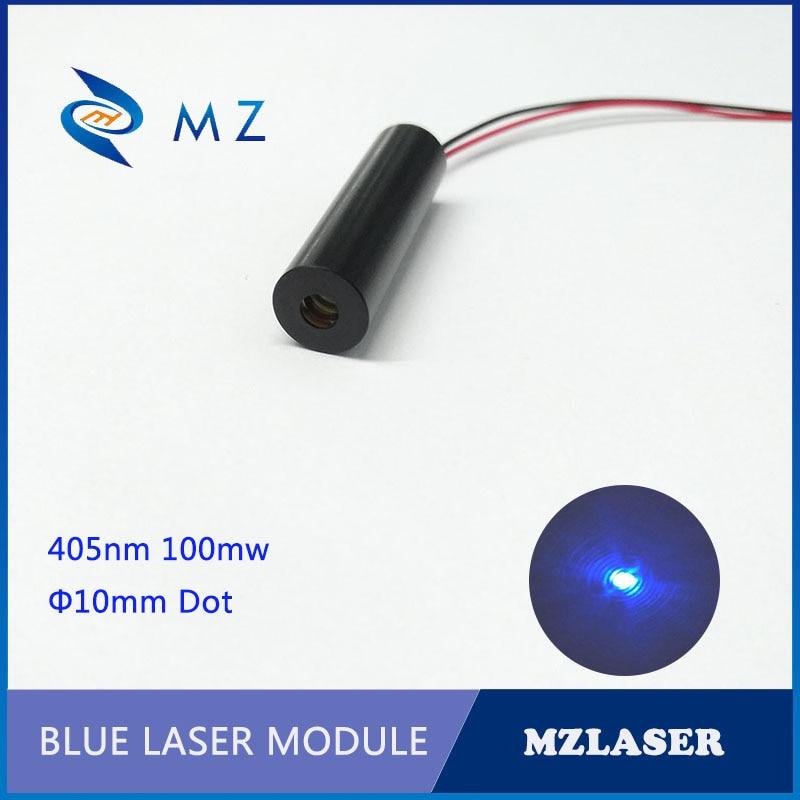 405nm100mw Dot Blue ACC Driven Industrial Laser Module 3V Light Blue Laser