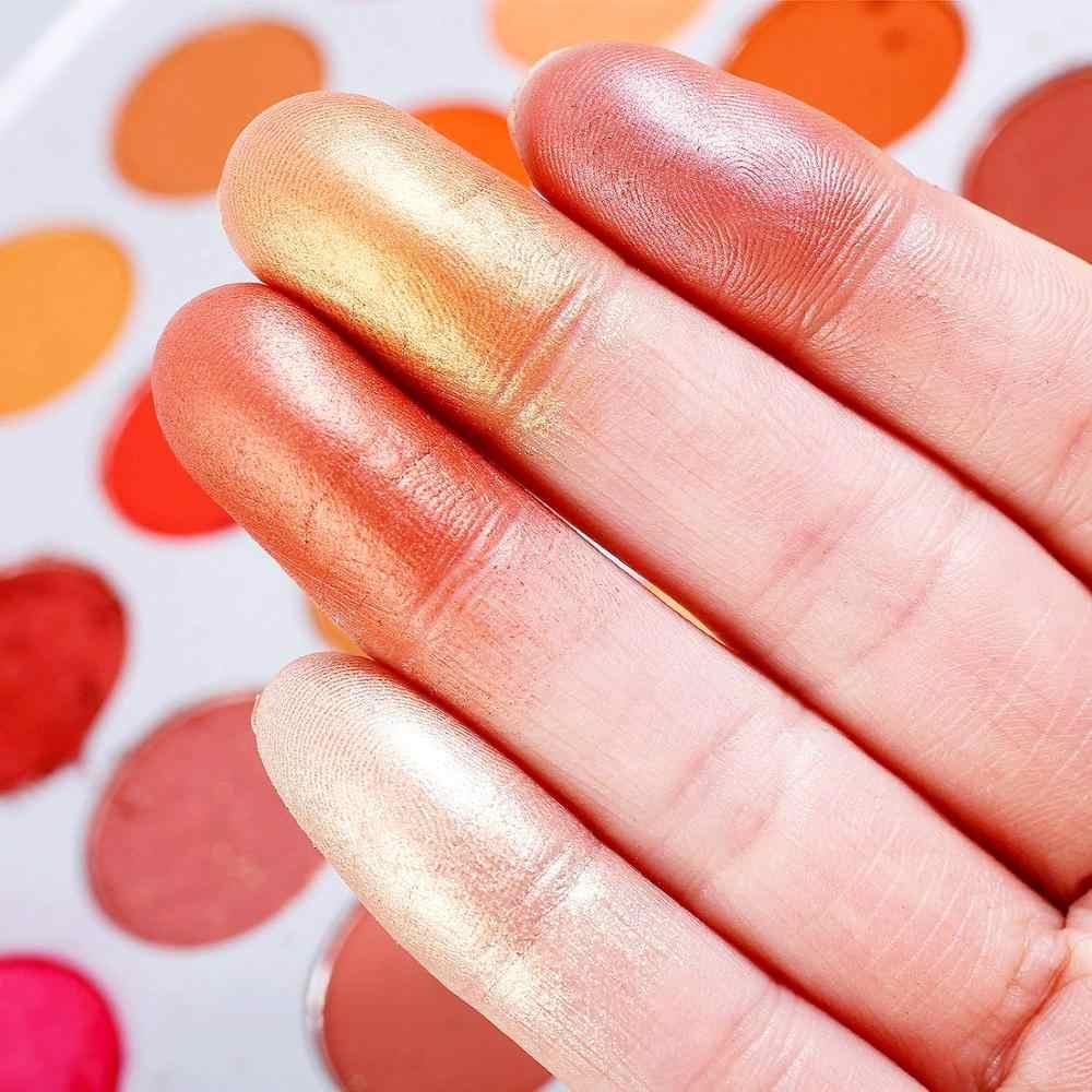 גליטר צללית 35 צבעים עמיד למים צבעים של צללים מט מקצועי עין איפור Palletes לאורך זמן איפור סטים