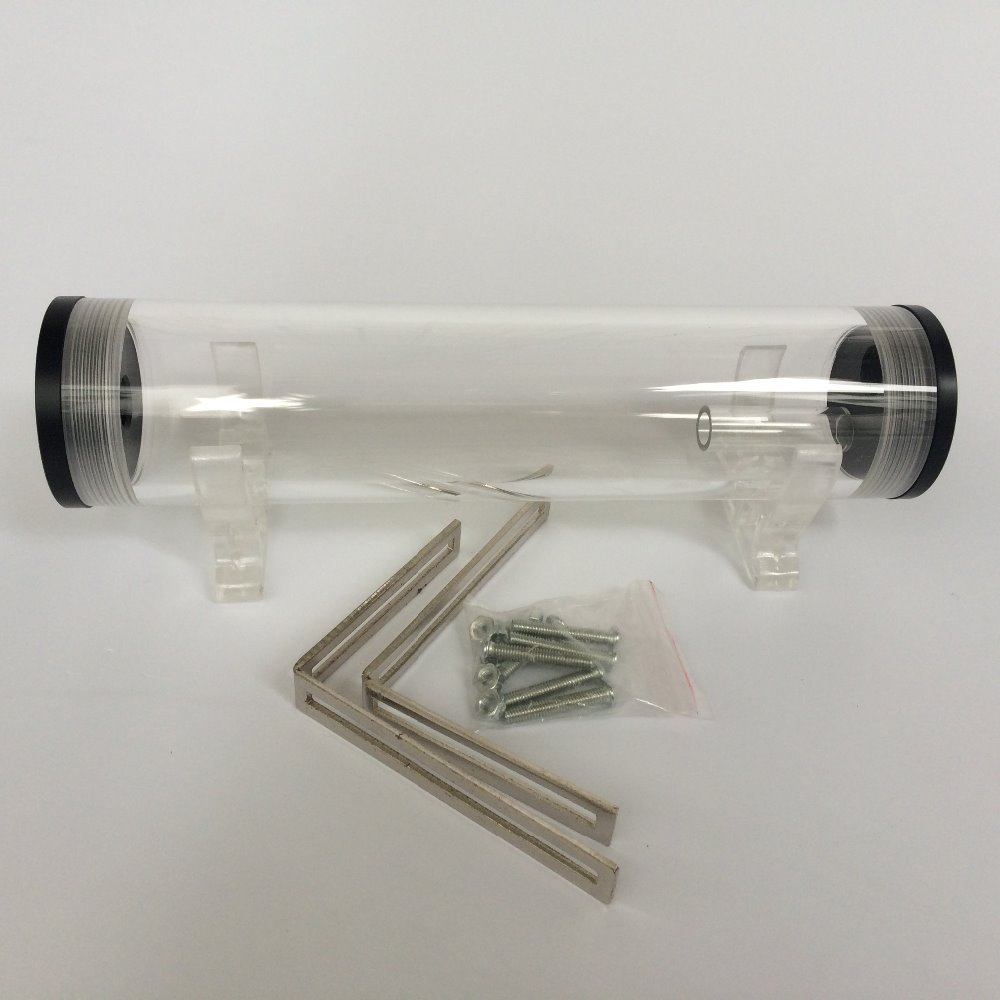 210mm Diameter Tank G1/4 Thread Cylinder Reservoir Tank PC Water Cooling Kit  Water Tank For Computer Cooling System