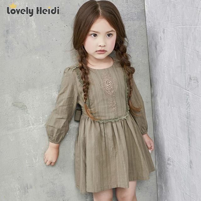 1778450ff28af Haute qualité d'été 2016 filles robes enfants enfants vêtements fille  vêtements dentelle broderie fille