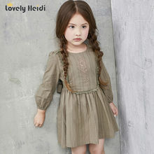 high quality summer 2016 girls dresses kids children clothes girl clothes lace embroidery girl dress 4