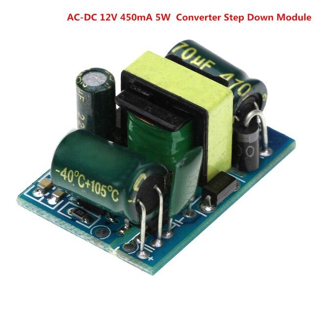 AC to DC 12V 450mA 5W Power Supply Buck Converter Step Down Module AC 85V-265V to DC 12V