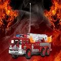 Vehículo con motor Remoto de $ NUMBER CANALES RC Camión de Bomberos Camión de Bomberos Fuego Montacargas Salvación Escalera de Asalto con la Caja Original