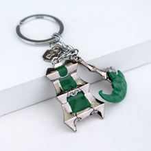Newest League of Legends Thresh Hook Keychain LO L Thresh Weapon Lantern&Sickle Bisoprolol Key Chains Keyrings Car Gift Chaveiro